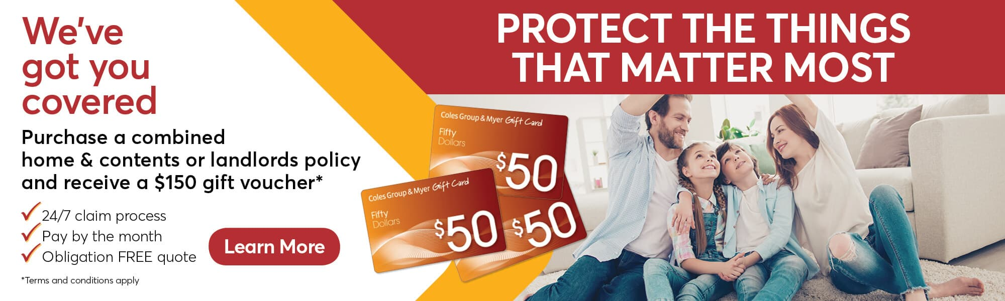 Home Insurance Promotion